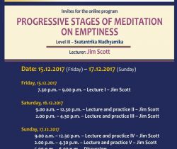 Progressive Stages of Meditation on Emptiness - Level III - Svatantrika Madhyamika