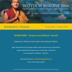 Wizyta J.Ś.Karmapy w Europie